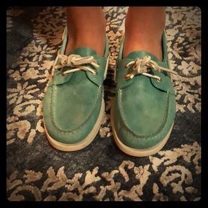 Sperry top sider/teal